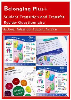 The NBSS Belonging Plus+ transition and transfer programme explicitly teaches first year students about their new school's expectations, rules and routines. Class rules are displayed and used as visual reminders and cues.